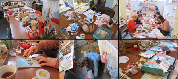 The workshop DIY Stationery