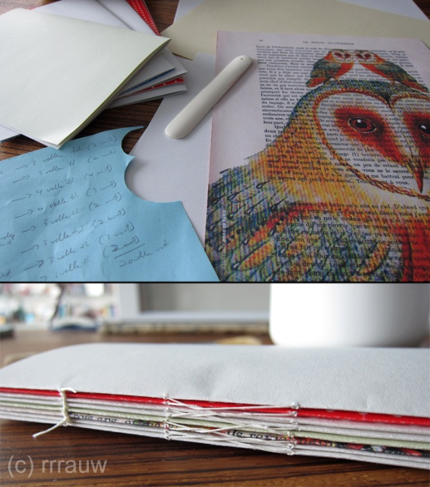 The making of a handbound book