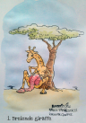 rhmilo cartoon knitting giraffe