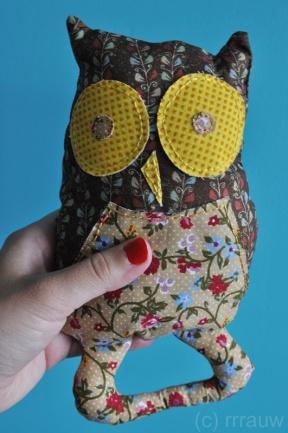Baby rattle owl