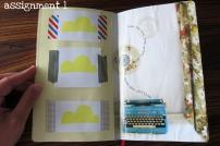 Visual Journaling Camp Pikaland, assignment 1