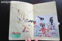 Visual Journaling Camp Pikaland, assignment 2