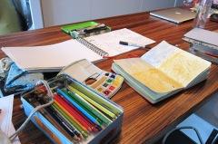 Work in Progress: Visual Journaling