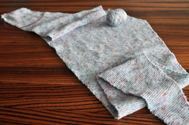 Baktus knitted scarf