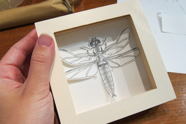illustrated dragonfly
