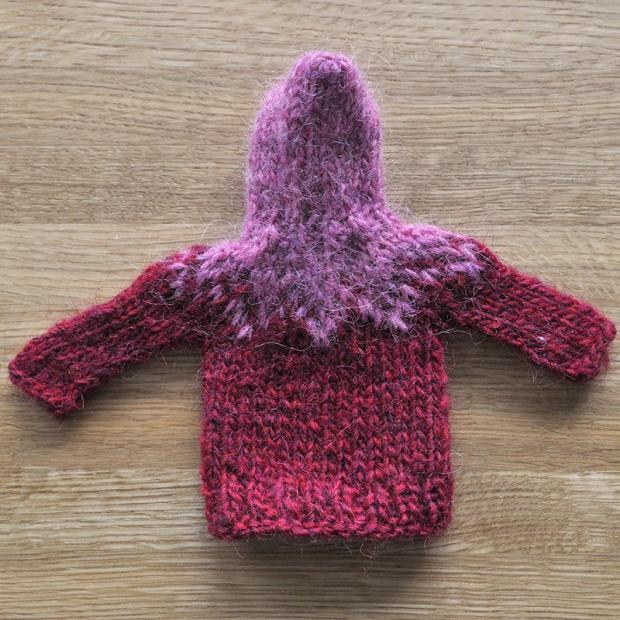 Knited mini hoodie