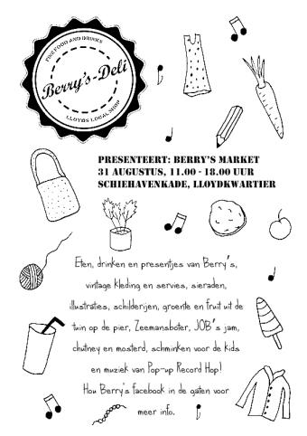 Flyer for handmade market
